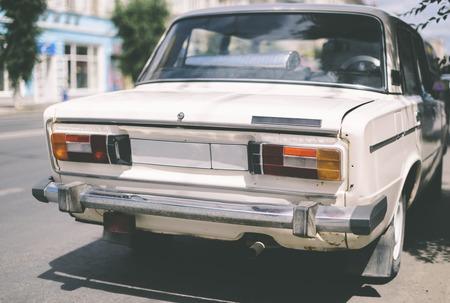 russian car: vintage russian car