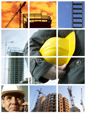 baustellen: Baugewerbe (aus meiner Fotos, gro�e mor Ihrem Design)  Lizenzfreie Bilder