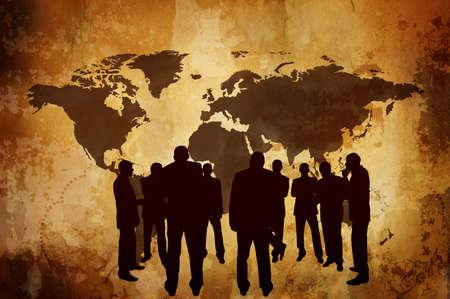 background antarctica: global marketing