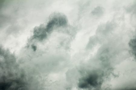 ozone layer: Stormy dramatic cloud Stock Photo