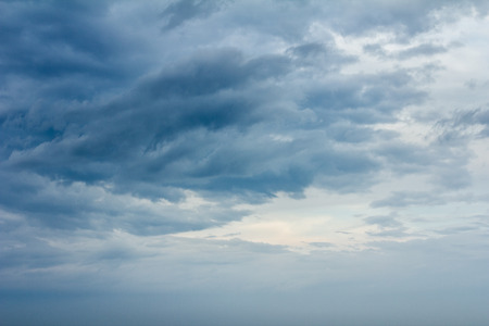 stormy clouds: Beautiful stormy clouds background