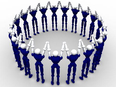 Circle Of People Stock Photo - 359623