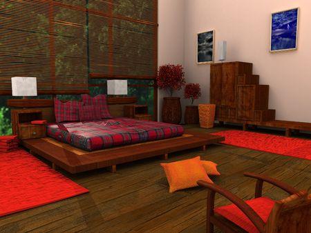 Ethnic Bedroom photo