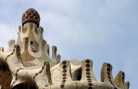 Parc Guell , Barcelona, Spain