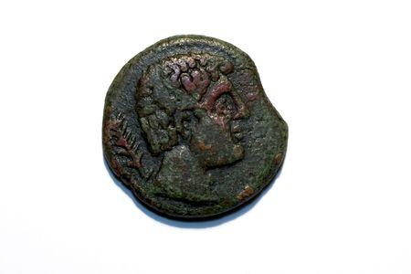 numismatic: Iberian coin of Kesse (Tarraco) 2nd Cent. B.C. Tarragona ,Spain