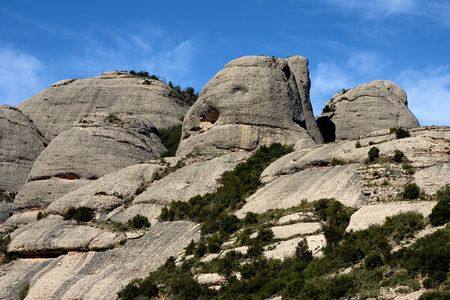 Montserrat mountain, Catalonia, Spain photo