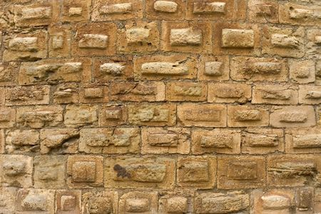 Medieval stone wall in Domme, Dordogne, France Stock Photo - 655962