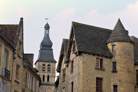 aquitaine: Sarlat, Dordogne (Perigord), Aquitaine, France Stock Photo