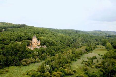 aquitaine: Chateau de Laussel, Dordogne (Perigord), Aquitaine, France