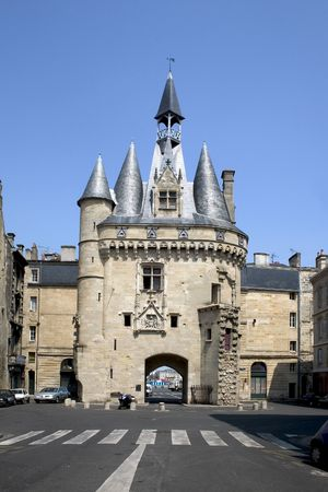 Porte Cailhau in Bordeaux, Gironde, Aquitaine, France