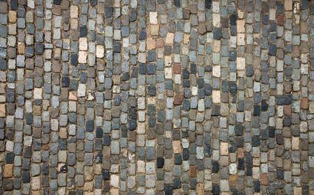 empedrado: Tradicional pavimento, una calle pavimentada con adoqu�n