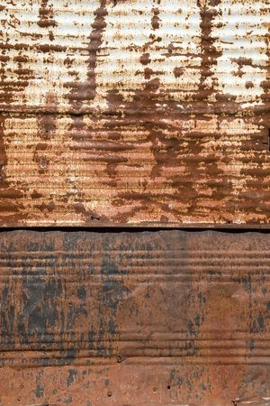 A close-up of a rusty metal plate Stock Photo - 728756