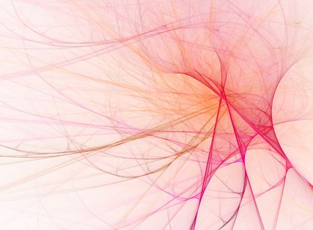 elasticity: A computer generated abstract silky pink design Stock Photo