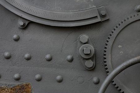 gunnery: Detail of a cannon in Montjuic Castle, Barcelona, Catalonia, Spain