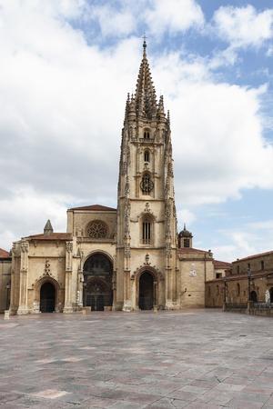 patrimony: Cathedral of Saint Salvador in Oviedo, Asturias, Spain