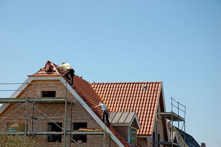 workingman: Roofers