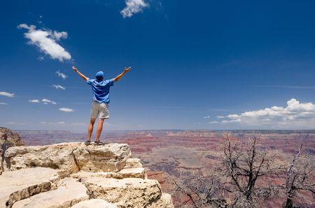 south rim: USA. Arizona. Grand Canyon National Park. South Rim.  Stock Photo