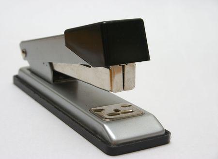 office stapler: stapler