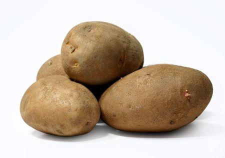 russet potato: potatoes Stock Photo