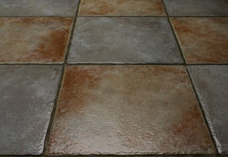 ceramic floor Stock Photo