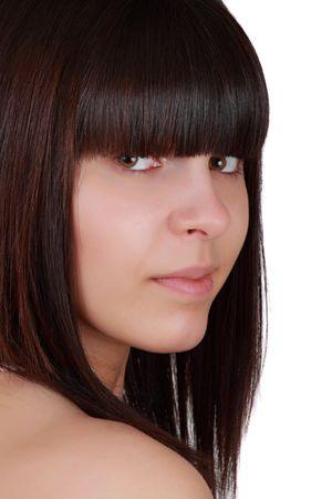 closeup portrait of a cute teen girl Stock Photo - 4699334