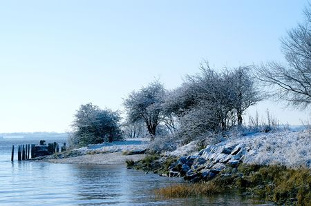 Frosty Waters edge photo