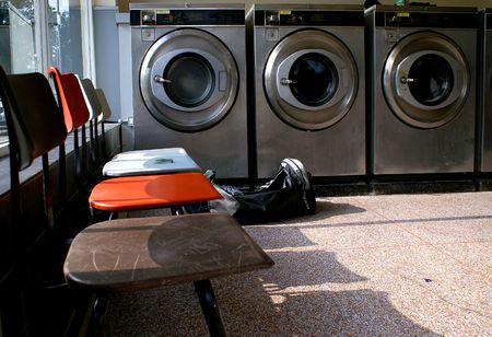 launderette: Waiting for Washing