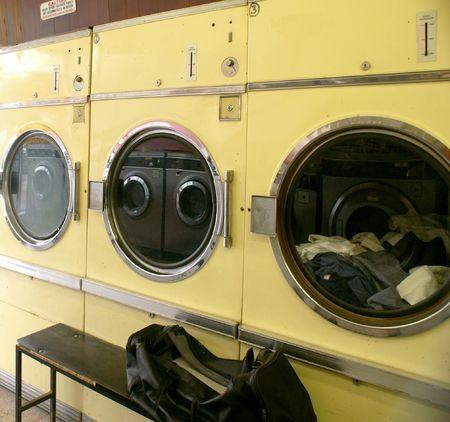 launderette: Tumble Dryer at Launderette