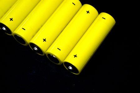 Row AA Batteries photo