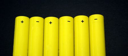 Row of Batteries photo