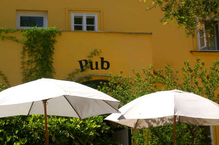 beer garden: beer garden