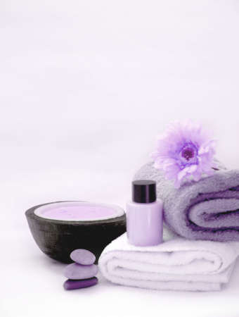 spa therapy: Purple Spa Therapy