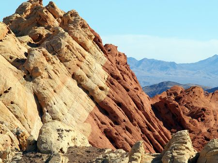 Valley of Fire rocks photo