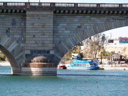 relocated: London bridge Stock Photo