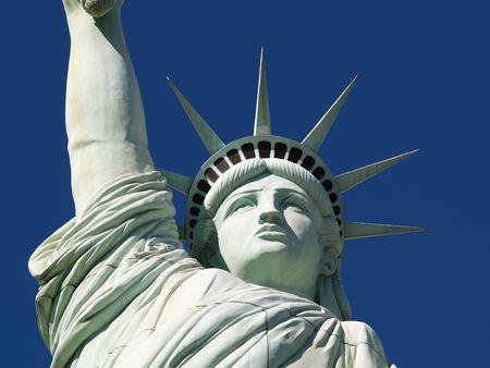 lady liberty: Close-up Dama de la Libertad en Las Vegas