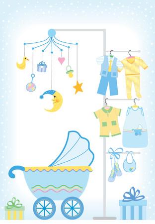 Baby boy docce - Ogni elemento pu� essere utilizzato separatamente