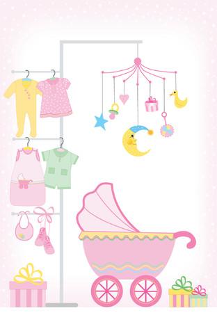 Bambina docce - Ogni elemento pu� essere utilizzato separatamente
