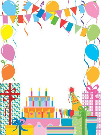 Festa di compleanno  Vettoriali