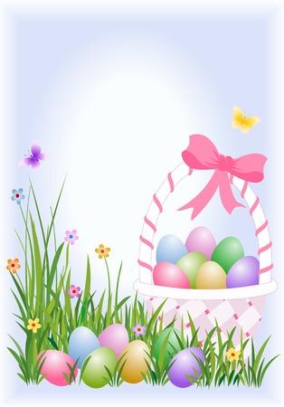 Uova di Pasqua nel carrello