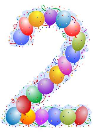 Palloncini e coriandoli - Numero 2