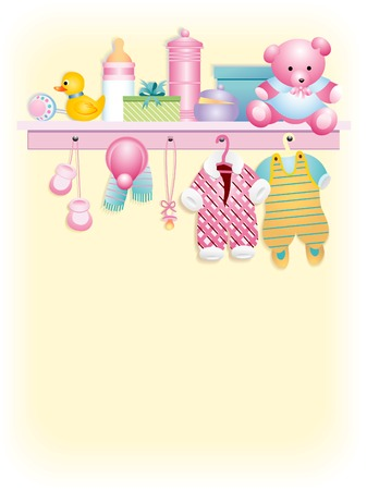 clothing rack: Clothes and accessories for girl boy -  girl garment