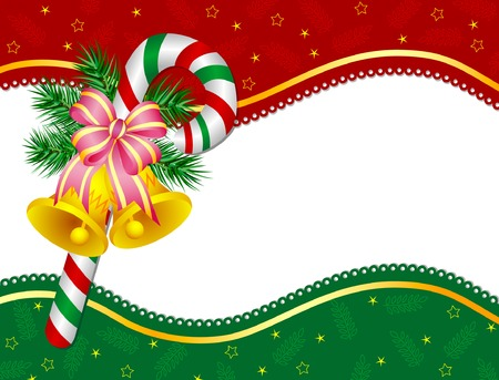 jingle bells: Christmas bells Illustration