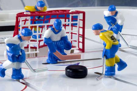hockey sobre hielo: hockey  Foto de archivo