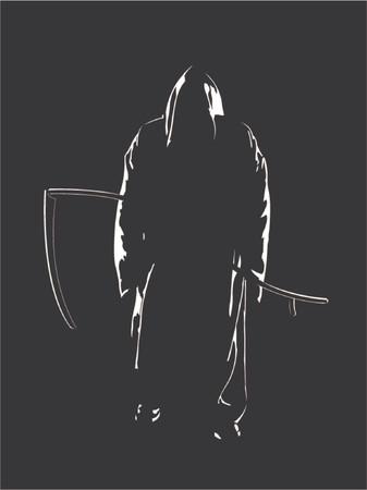 cripta: Il Reaper delle anime  Vettoriali