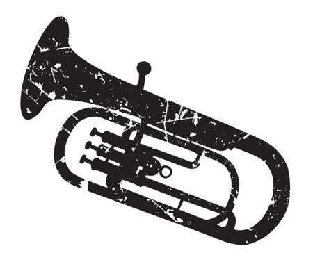 brass wind: tenor-horn Illustration
