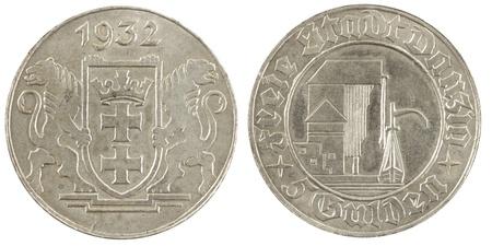 gulden: Coin Danzig Five Gulden 1932
