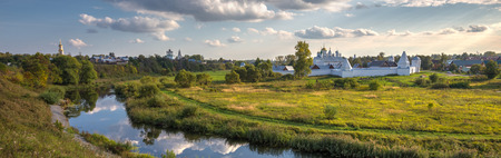 intercession: Intercession (Pokrovsky) Monastery in Suzdal.The Golden Ring of Russia Stock Photo