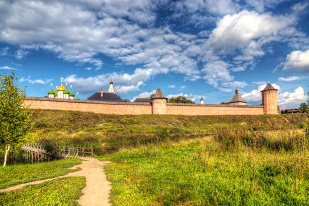 Monastery of St. Euthymius at Suzdal, Russia photo