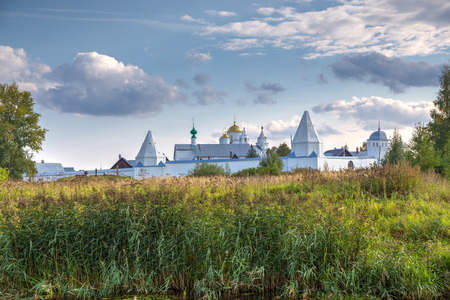 pokrovsky: Intercession (Pokrovsky) Monastery in Suzdal.The Golden Ring of Russia Stock Photo