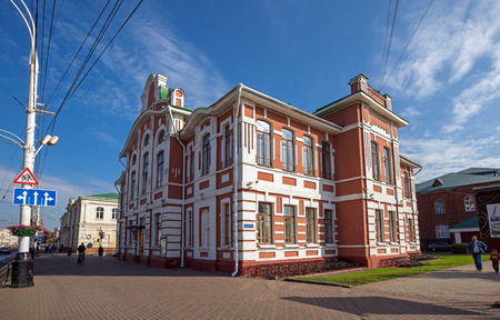 pedagogical: TAMBOV, RUSSIA - SEPTEMBER 13, 2014: Tambov State Musical Pedagogical Institute named Sergei Rachmaninoff (Rachmaninoff Music School)